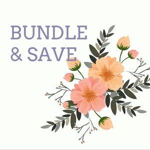 •• BUNDLE + SAVE ••